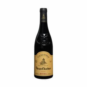 wino czerwone wytrawne francuskie vacqueyras