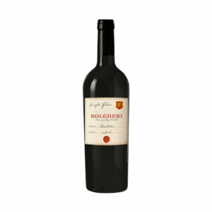 wino czerwone wytrawne włoskie bolgheri