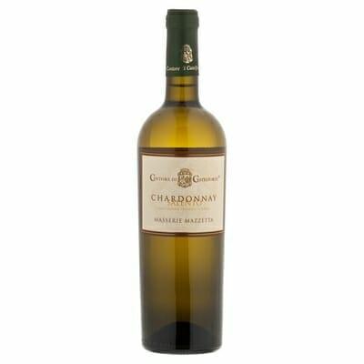wino białe półwytrawne włoskie chardonnay