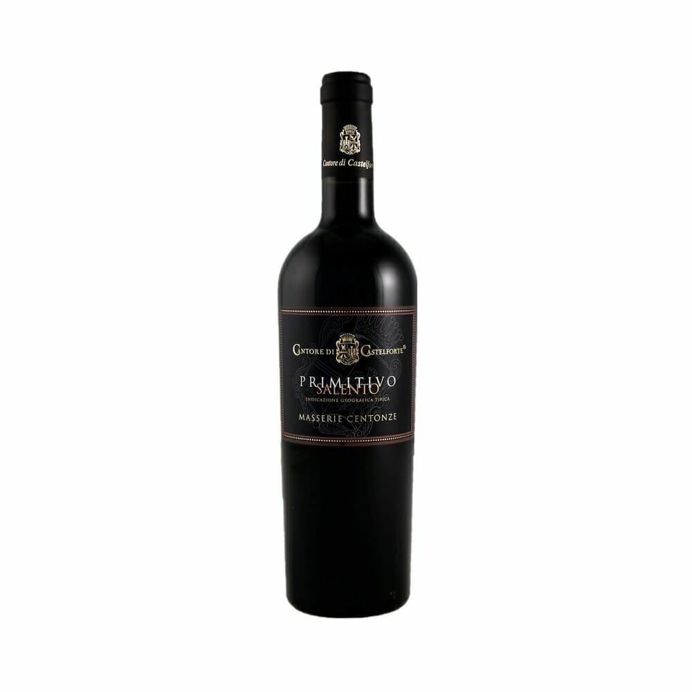 wino czerwone półwytrawne włoskie primitivo salento