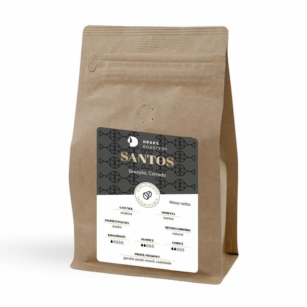 dobra kawa brazylia santos